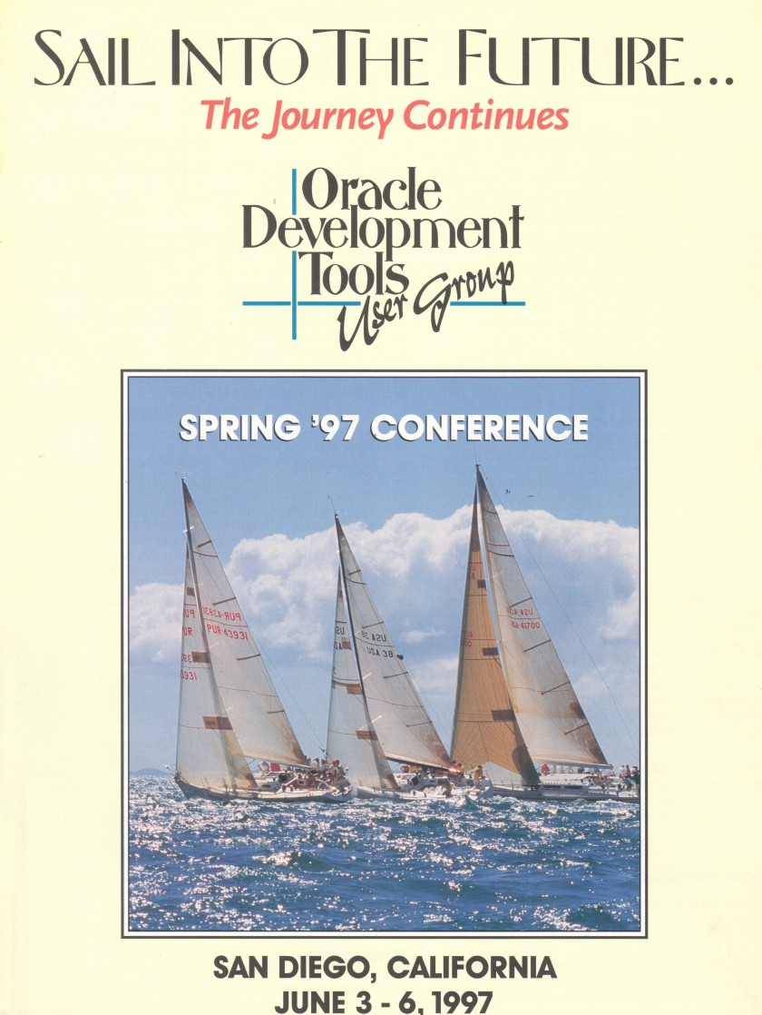 1997 Conference Program Cropped